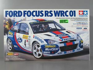 Details About Rare Vintage New Nib Tamiya R C 1 10 Ford Focus Wrc 01 Tb 01 4wd Chassis 58281
