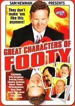 Great Characters of Footy (AFL) (DVD, 2009) New DVD Region 4 Sealed