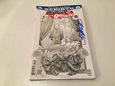 SIGNED FRANK CHO DC COMICS REBIRTH HARLEY QUINN #19 W//COA 200/% GUARANTEE