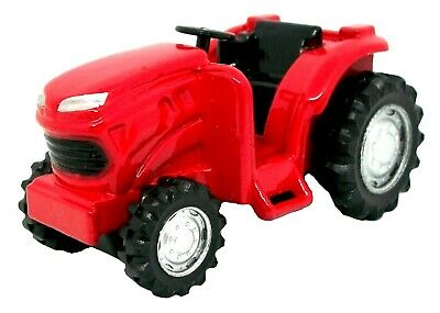 Red Farm Tractor Die Cast Metal Collectible Pencil Sharpener