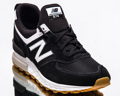 save off 743b4 ffaf4 New Balance 574 Sport Men new Black White Casual Lifestyle Sneakers  MS574-FCB | eBay