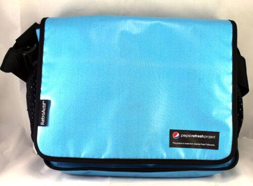 Pepsi Refresh Project RetroActif Messenger Side Bag Made from Pepsi Billboards