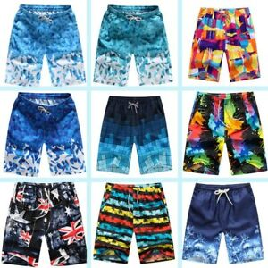 Swimsuit-short-pants-hot-new-surf-board-Men-039-s-summer-swiming-beach-trunks-shorts