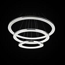 Modern Luxury 3Ring Pendant Lamp Ceiling Lighting Drop Chandelier LED Fixture US