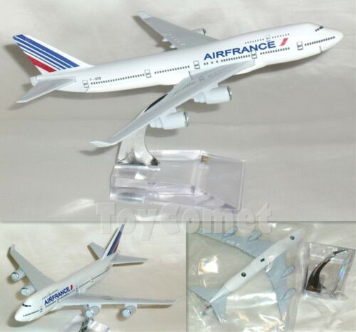 AIR FRANCE Boeing 747 Airplane 16cm DieCast Plane Model