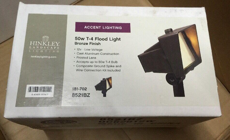 Hinkley Lighting paisaje luz de acento acabado bronce 50W T-4 luz de inundación