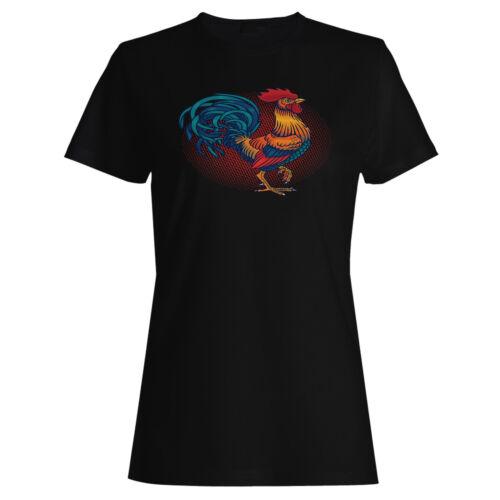 POLLO GALLO Donna T-Shirt/tank top m609f
