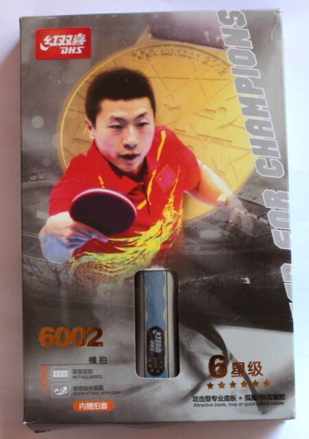 DHS 6Stars A6002 Table Tennis Paddle / Racket / Bat, Aussie seller