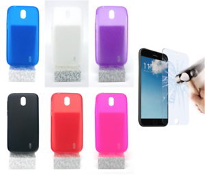 PT-Case-Cover-Gel-TPU-Silicone-Nokia-1-4G-4-5-034-Optional-Protector
