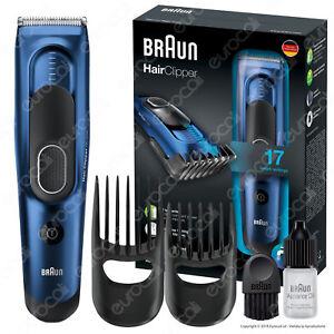 Braun-HC5030-Tagliacapelli-Elettrico-con-17-Impostazioni-Rasoio-Capelli-Uomo