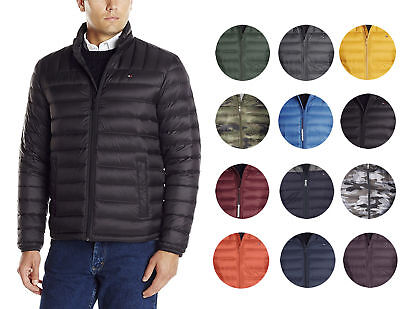 7bb0f3ee9 Tommy Hilfiger Men's Insulated Packable Down Puffer Nylon Jacket | eBay