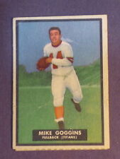 1951 Topps Magic Mike Goggins RC #32 Poor/Fair (scratched) creases (Inv#816cb)