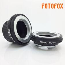 M42-LM Adapter for M42 Lens to Leica M L/M M9 M8 M7 M6 M5 for TECHART LM-EA 7