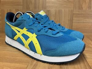 new style 5877e 92161 Details about RARE🔥 Asics X-Caliber Onitsuka Tiger Blue Yellow Retro Sz 13  Men's Shoes LE