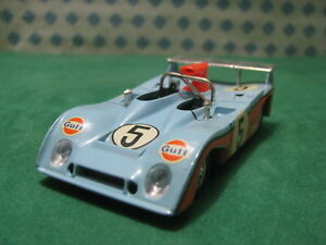 Vintage-Golfo-Mirage-Le-Mans-1-43-Solido-N-17-condicion-de-menta