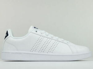 san francisco f97a9 f2095 Scarpe adidas Cloudfoam Advantage Clean ispirata Stan Smith Bianco Uomo  Bb9624 44