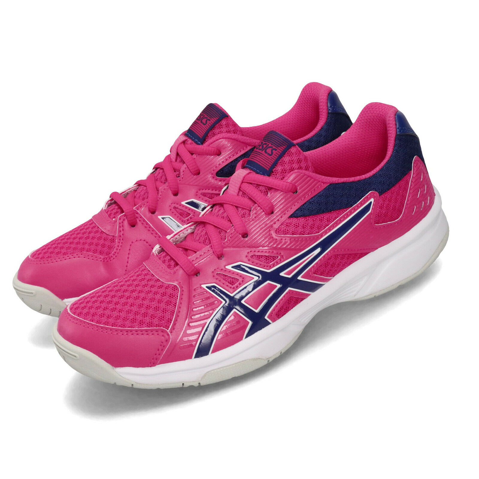 Asics Upcourt 3 Fuchsia Purple Women Volleyball  Badminton shoes 1072A012-500  new sadie