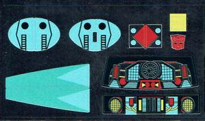 Transformers génération 1 G1 Autobot Bluestreak repro Labels//stickers