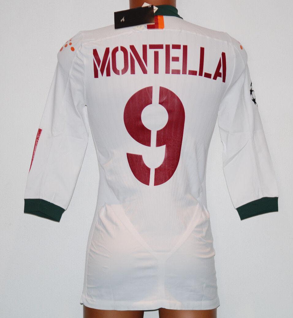 MAGLIA ROMA MONTELLA CHAMPIONS 2004 2005 DIADORA XXL PLAYER BARILLA ISSUED BARILLA PLAYER WORN e4d3e6