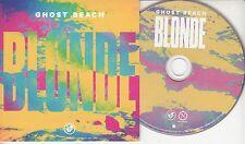 GHOST BEACH Blonde 2014 UK 12-track promo CD