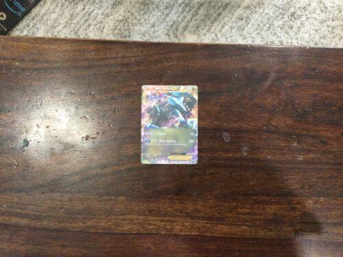 Black Kyurem EX Pokemon Card