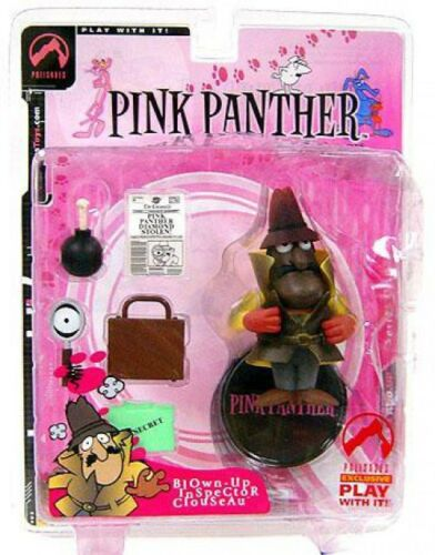 Blown-Up Pink Panther Inspector Clouseau Exclusive Action Figure