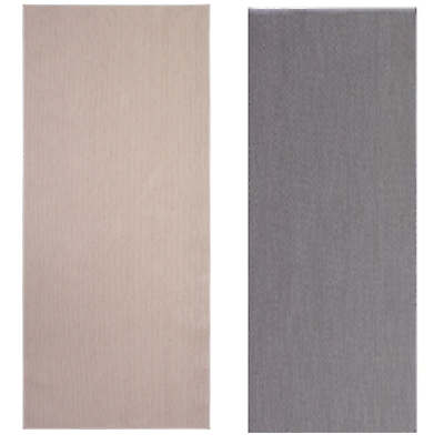 Nuevo * Alfombra söllinge, flatwoven beige y gris, 65 X 150
