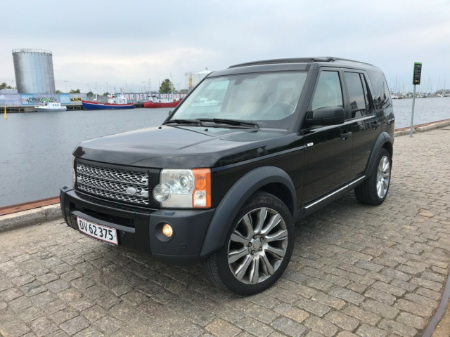 Land Rover Discovery 3, 2,7 D HSE 7prs, Diesel, 4x4, aut.…