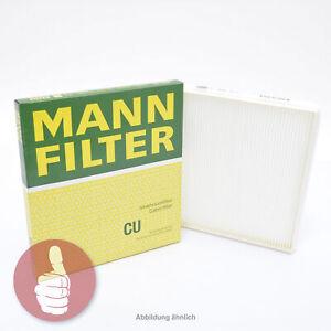 Innenraumfilter Pollenfilter NEU MANN-FILTER CU 1722