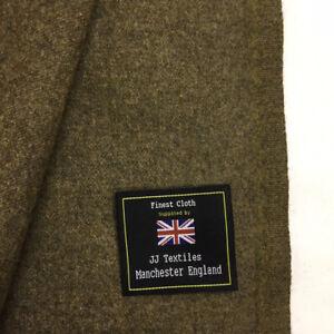4-Metres-Brown-Twill-100-Wool-Coat-Overcoat-Winter-Wool-Jacket-Fabric