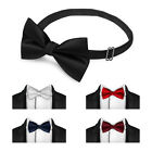 Quality Classic Novelty Adjustable Polyester Bow Tie Necktie Wedding Tuxedo