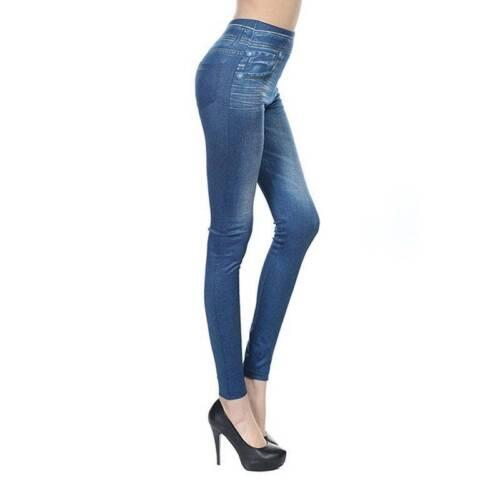 Cozy Jean Skinny Denim Jean Polyester Women Fashion Slim Jean Serré Pantalon Sur