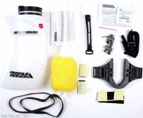 Profile Design Aero Drink System /& Universal Aero Water Bottle Bracket Set