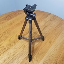 Durable Color : Brown Brown GuiPing WT3130 Protable Camera Tripod Stand with Rocker Arm for DSLR Camera Camcorder