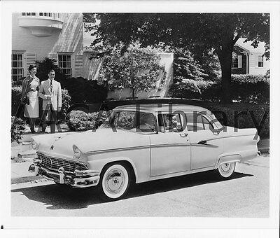 Ref. # 42535 Factory Photo 1956 Ford Customline Fordor