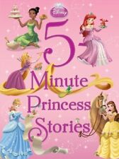 5-Minute Stories: 5-Minute Princess Stories by Disney Book Group Staff and Disney Press Staff (2011, Hardcover)