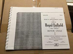 ROYAL-ENFIELD-1955-56-500-Doble-LISTA-DE-PIEZAS-127-3-54