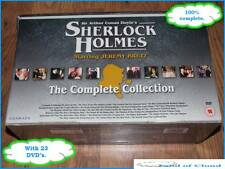 Sir Arthur Conan Doyle's Sherlock Holmes The Complete Collection 23 DVD box set