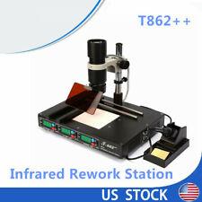 T862irda Welder Infrared Heating Rework Station Bga Smd Desoldering Preheated