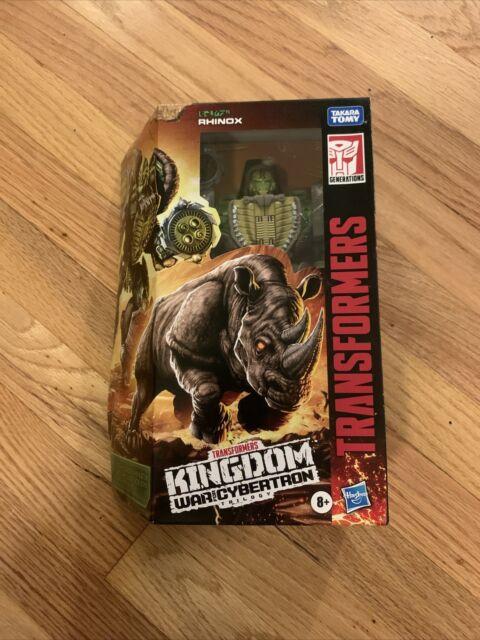 Transformers Generations Kingdom WFC RHINOX Voyager 6in Figure IN HAND!!