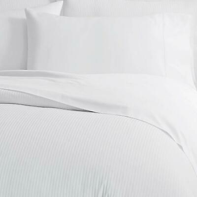 THREAD COUNT 180 LUXURY HOTEL QUALITY PERCALE DUVET QUILT SET-DEEP FITTED SHEET