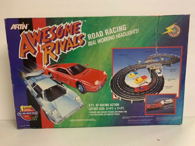Artin Awesome Rivals Road Racing Track