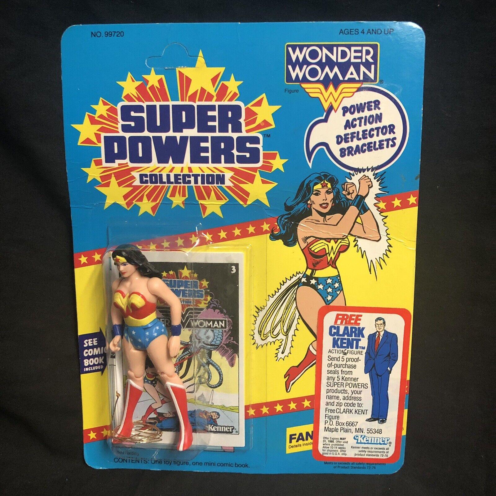 wholesape barato Súper poderes Mujer Maravilla Maravilla Maravilla ENLOMADOR Kenner Figura de acción sellado Vintage 1985  100% a estrenar con calidad original.