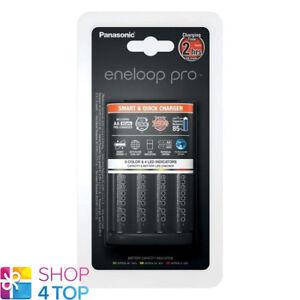ENELOOP-PRO-CHARGER-SMART-QUICK-PANASONIC-BQ-CC55-4-AA-BATTERIES-2500mAh-NEW