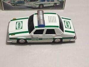 Hess Patrol Car Gasoline Dual Sound Siren Headlights Collectible In Box Ebay