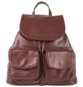 Sac-a-dos-en-cuir-pour-Femme-4-couleurs-main-en-Italie-BC707