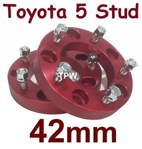 42mm-Wheel-Hub-Spacers-5-Stud-for-Toyota-Landcruiser-100-105-200-70-76-78-79