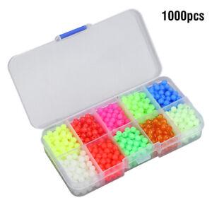 1000Pcs-Round-Luminous-Fishing-Beads-Sea-Fishing-Lure-Floating-Float-Tackle