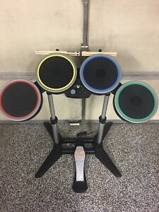 READ-Rock-Band-4-Xbox-One-Drums-W-Pedal-Drum-Set-Wireless-TESTED-Works