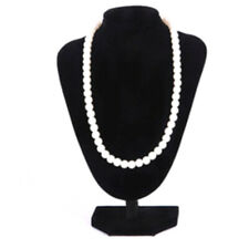 Velvet Necklace Pendant Jewelry Display Bust Mannequin Holder Rack 2116cm